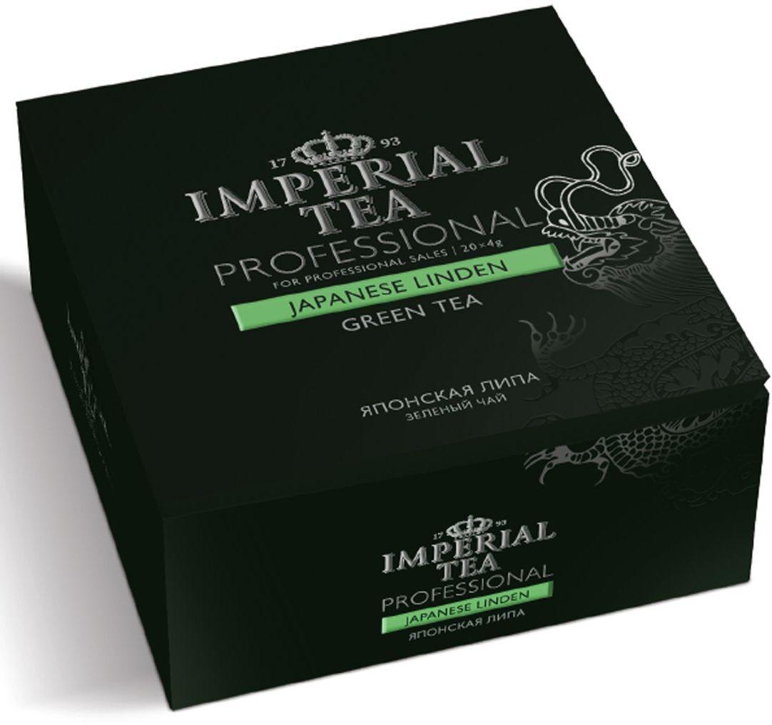 Императорский чай Professional Японская липа, 20 шт73-60Настой из липового цвета с зеленым чаем- выбор творческих особ, которые умеют находить вдохновение во всем что их окружает. Медовый вкус и запах нет смысла описывать, потому что большинство из нас знает, какой аромат носится в воздухе, когда цветет липа. Этот чай, отлично подойдет как для праздничных посиделок в кругу семьи, так и для подачи в ресторанах самым требовательным клиентам, ведь чай – удовольствие, доступное каждому!