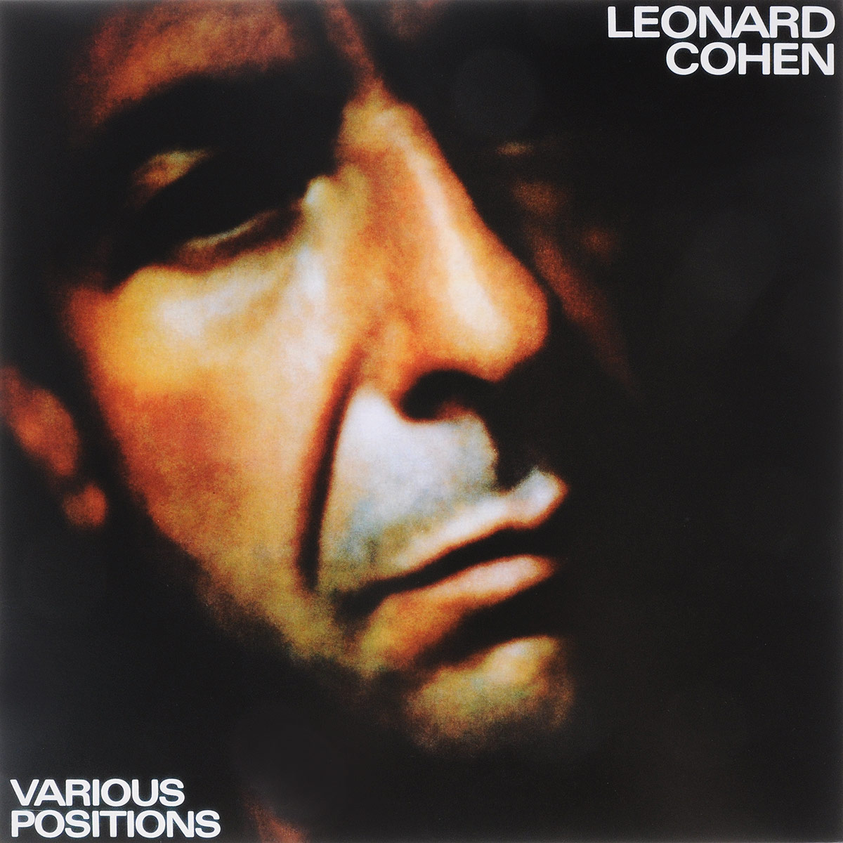 Леонард Коэн Leonard Cohen. Various Positions (LP)