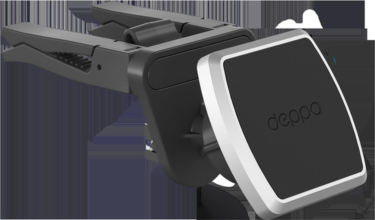 Deppa Mage Air, Black автомобильный держатель для смартфонов аксессуар чехол для lenovo tab 4 plus 10 1 tb x704l g case executive dark blue gg 863