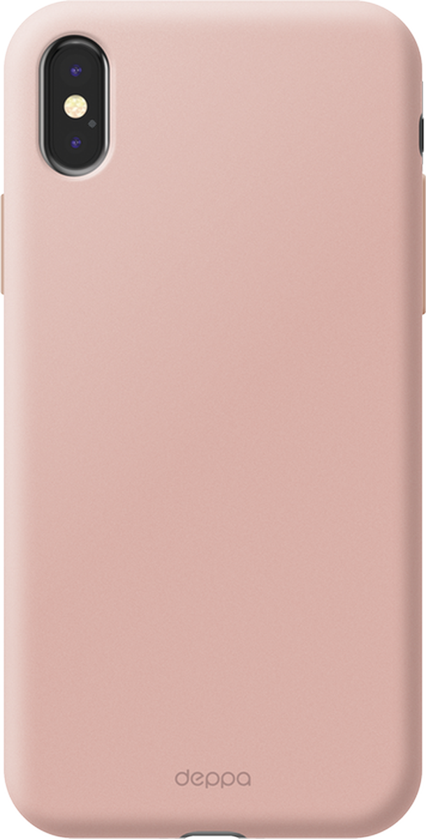 Deppa Air Case чехол для Apple iPhone X, Pink - Чехлы