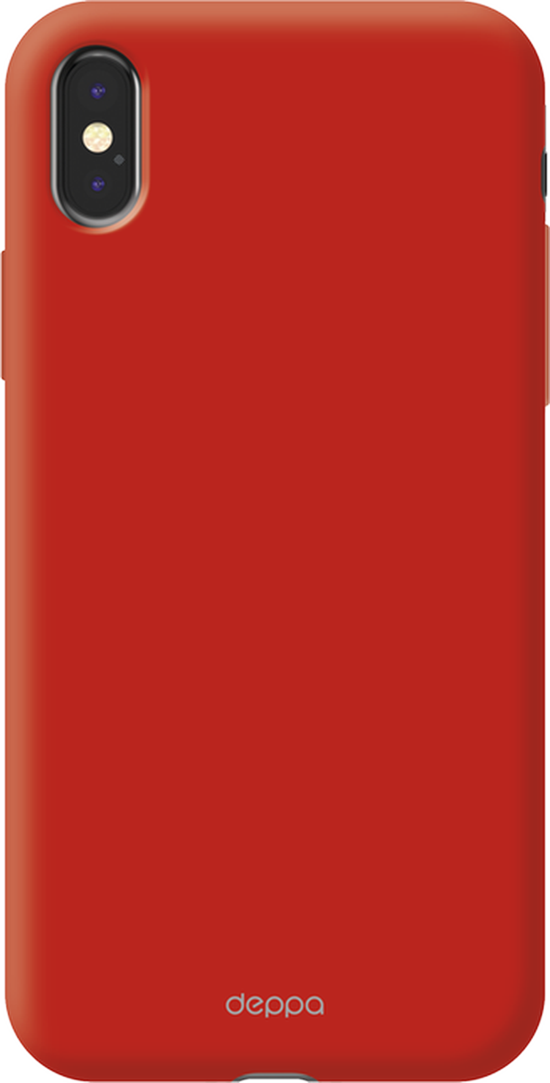 Deppa Air Case чехол для Apple iPhone X, Red - Чехлы