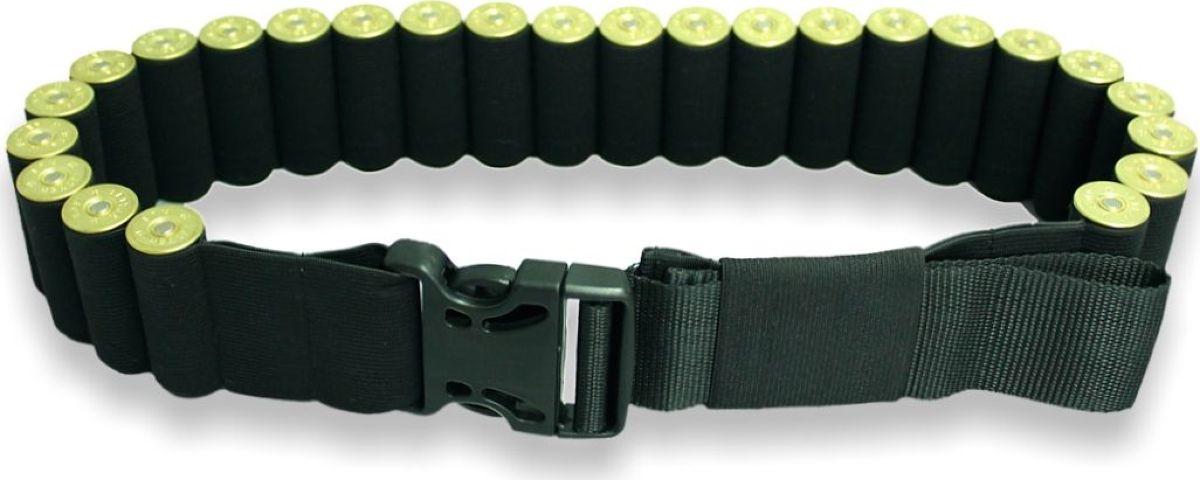 Патронташ-ремень Tplus, резиновый, цвет: черный