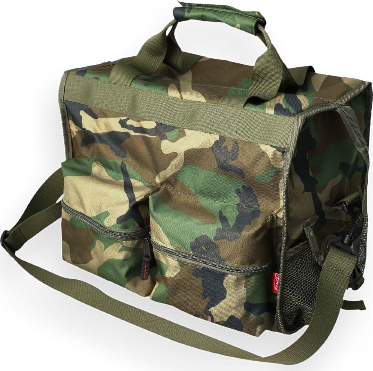 Сумка рыбака Tplus 600, цвет: нато, 40 x 30 x 25 см сумка рыбака tplus 600 цвет олива 36 x 20 x 20 см