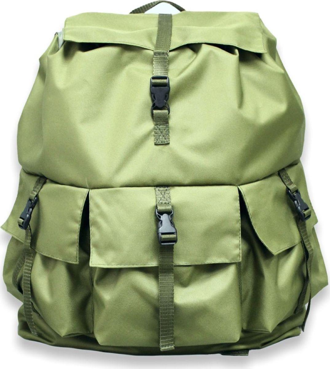 Рюкзак туристический Tplus, цвет: олива, 50 лT009890Туристический рюкзак Tplus объемом 50 литров выполнен из ткани оксфорд. Подобные объемы дают возможность переносить на большие расстояния значительное количество вещей и снаряжения весьма продолжительный срок, в особенности, если имеется необходимость обеспечения на пару недель автономного существования.С таким спутником в путь будет укомплектовано всё, что нужно и за сохранность вещей переживать не придется. К тому же три наружных кармана на лицевой стороне очень удобны для хранения фонарей и ключей, а так же первопотребного инвентаря.Для удобной транспортировки рюкзака предусмотрены плечевые лямки из плотного прочного материала. Предусмотрена ручка, для носки в одной руке.