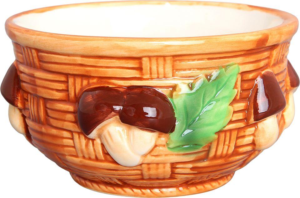Салатник Elan Gallery Грибы, 490 мл110709Великолепный салатник идеален для сервировки салатов. Вместительный салатник станет украшением для Ваших блюд. Соберите всю коллекцию предметов сервировки Грибы и Ваши гости будут в восторге! Изделие имеет подарочную упаковку, идеальный выбор для подарка. Объем 490 мл.