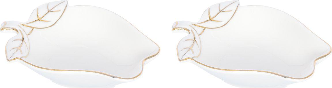 Блюдо Elan Gallery Яблоко, цвет: золотистый, 13,5 х 10 х 3,5 см200061Набор из двух блюд украсит современный интерьер и станет отличным подарком для любителей стильных вещей. Размер 13,5х10х3,5 см. Объем 125 мл.