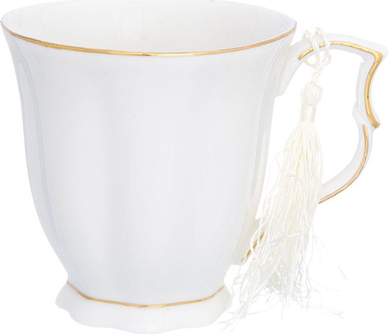 Кружка Elan Gallery Белая грань, 280 мл420186Великолепная кружка Белая грань не оставит равнодушным ни одного из ваших гостей и станет прекрасным выбором для подарка. Оригинальный дизайн и оформление подарят вам отличное настроение. Изделие упаковано в подарочную коробку.