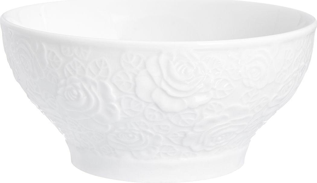 Салатник Elan Gallery Белые розы, 500 мл чайники заварочные elan gallery чайник белые розы
