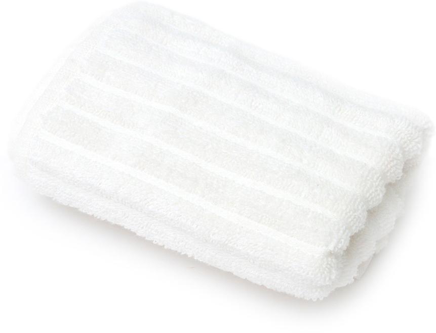 Полотенце для ванной Wess Meridiano, цвет: белый, 30 х 50 см1501001730Рельефный жаккардовый рисунок в виде полосок придется по вкусу ценителям современного дизайна. Произведено из индийского длинноволокнистого хлопка премиум-сортов. Особая пряжа обладает отличными водопоглощающими свойствами, гипоаллергенностью, мягкостью и объемом.