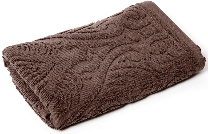 Полотенце для ванной Wess Zelidzh, цвет: коричневый, 50 х 80 смL02-08Жаккардовое полотенце с восточным экзотическим узором перенесет в атмосферу восточной сказки. Произведено из индийского длинноволокнистого хлопка премиум-сортов. Особая пряжа обладает отличными водопоглощающими свойствами, гипоаллергенностью, мягкостью и объемом.Плотность 550 г/кв.м. Полотенца надлежащего качества возврату и обмену не подлежат.