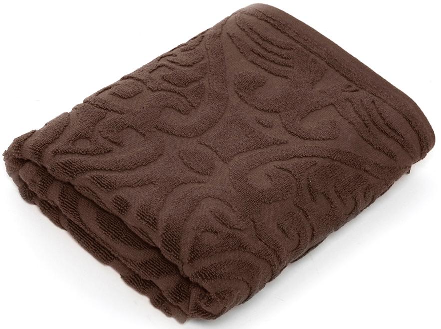 Полотенце для ванной Wess Zelidzh , цвет: коричневый, 70 х 140 смL03-08Жаккардовое полотенце с восточным экзотическим узором перенесет в атмосферу восточной сказки. Произведено из индийского длинноволокнистого хлопка премиум-сортов. Особая пряжа обладает отличными водопоглощающими свойствами, гипоаллергенностью, мягкостью и объемом.Плотность 550 г/кв.м. Полотенца надлежащего качества возврату и обмену не подлежат.