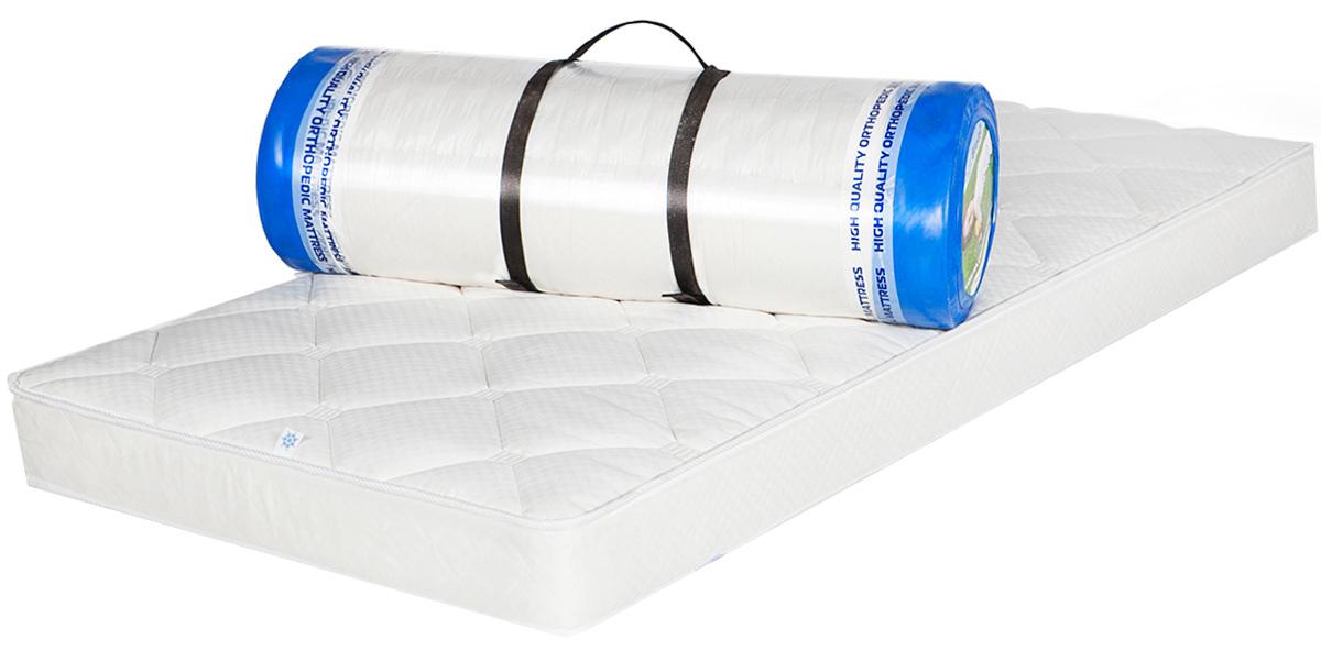Матрас Magicsleep Элион, средней жесткости, 80 х 190 смМ.097 80х190Матрас средней жесткости на основе блока независимых пружин, высота 17 смСистема независимых пружин позволяет телу принять анатомически правильное положение во время сна, оказывает точечную поддержку по всей длине позвоночника, снимая с него нагрузку и обеспечивая максимально комфортный сонВнешний слой покрытия матраса - Фиеста, из хлопкового жаккарда с антибактериальной пропиткой Sanitized. Пропитка Sanitized надежно защищает матрас от бактерий и плесени, эффективно устраняя неприятные запахи и препятствуя их возникновению. Плотное плетение волокон обеспечивает повышенную прочность и долговечность