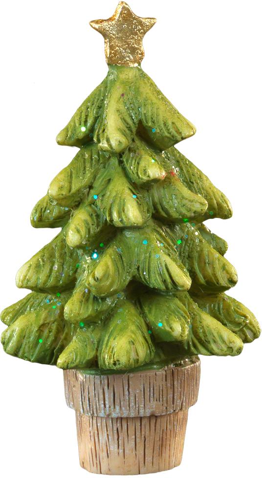 Сувенир новогодний Erich Krause Елочка в кадке, 8,5 см44219Маленькая елка в горшочке является прекрасным новогодним сувениром, а также отличным и недорогим знаком внимания. Лаконичный и качественный в исполнении, он создан из прочной полирезины. Новогодние украшения всегда несут в себе волшебство и красоту праздника. Создайте в своем доме атмосферу тепла, веселья и радости, украшая его всей семьей.