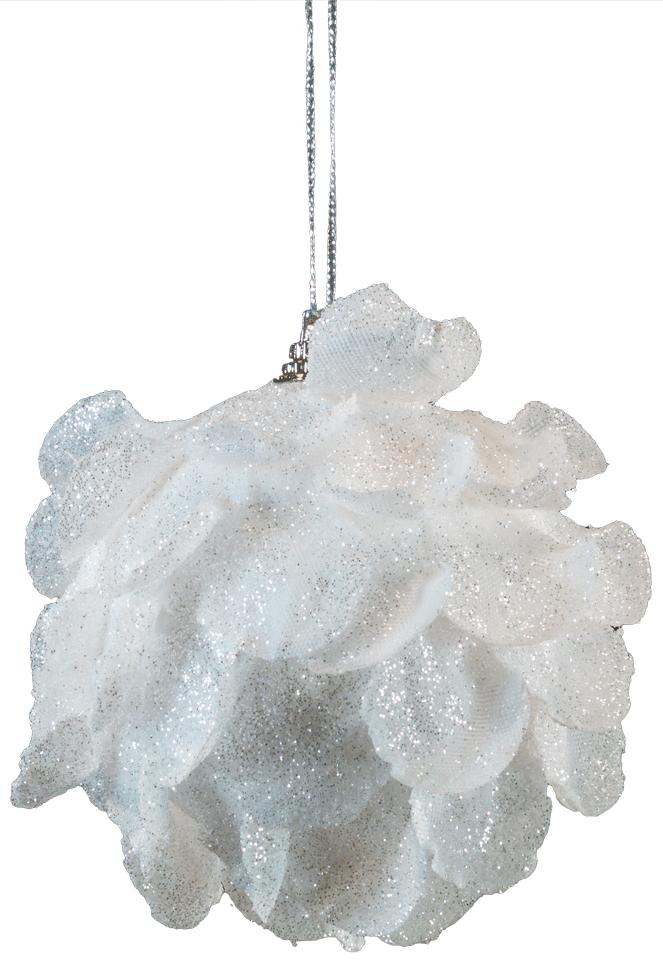 Украшение для интерьера новогоднее Erich Krause Зимний цветок, 9 см44195Красивый белый цветок аккуратно выполнен из текстиля. Лепестки покрыты сверкающими блестками. Легкое и лаконичное, украшение красиво смотрится на ветвях елки, а также в любом уголке праздничного помещения. Новогодние украшения всегда несут в себе волшебство и красоту праздника. Создайте в своем доме атмосферу тепла, веселья и радости, украшая его всей семьей.