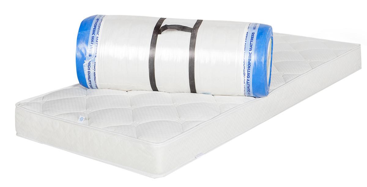 """Жесткий матрас Magicsleep """"Тесей"""" на основе блока независимых пружин. Система независимых пружин позволяет телу принять анатомически правильное положение во время сна, оказывает точечную поддержку по всей длине позвоночника, снимая с него нагрузку и обеспечивая максимально комфортный сон. Внешний слой покрытия матраса - Фиеста, из хлопкового жаккарда с антибактериальной пропиткой Sanitized.  Пропитка Sanitized надежно защищает матрас от бактерий и плесени, эффективно устраняя неприятные запахи и препятствуя их возникновению.  Плотное плетение волокон обеспечивает повышенную прочность и долговечность.  Высота матраса: 17 см."""