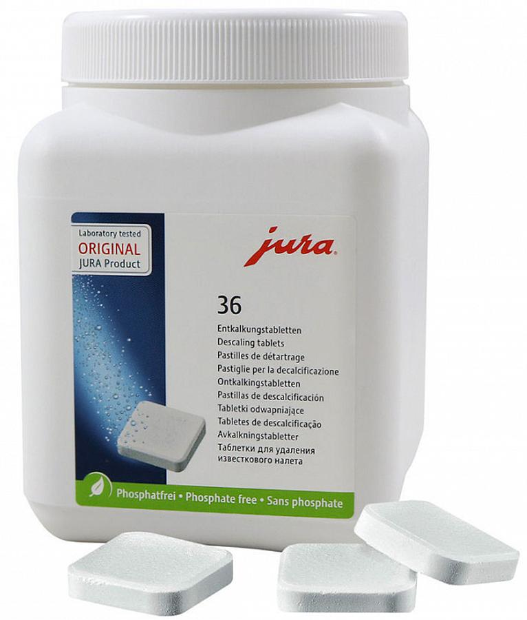Jura 70751 таблетки для декальцинации, 36 шт аксессуары для кофемашины бош