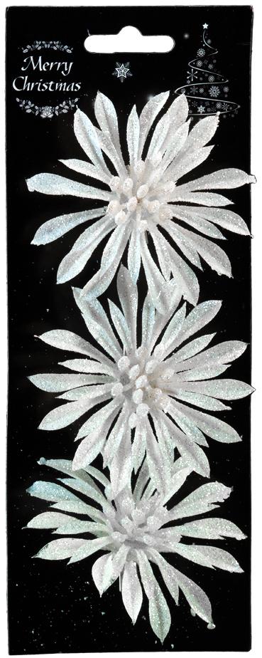 Набор новогодних украшений для интерьера Erich Krause Новогодний цветок, на клипе, 9 см, 3 шт44180Набор состоит из трех белых цветков, выполненных из пластика. Диаметр каждого цветка 9 см. При помощи аккуратного металлического клипа, украшение легко крепится на еловую ветку. Также подходят для оформления интерьера. Коллекция декоративных украшений принесет в ваш дом ни с чем не сравнимое ощущение волшебства! Откройте для себя удивительный мир сказок и грез.
