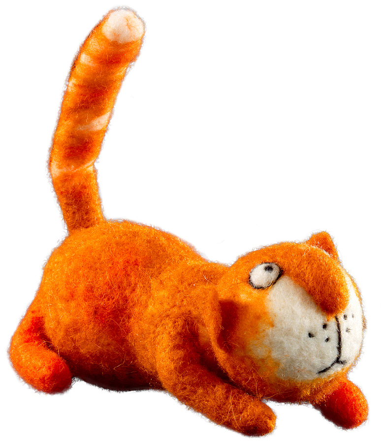 Сувенир новогодний Erich Krause Хвост трубой, 17 см43869Сувениры из валяной шерсти являются модным Трендом сезона. Рыжий кот очаровывает своим забавным внешним видом. Очень стильный сувенир. Упаковка - полибэг.