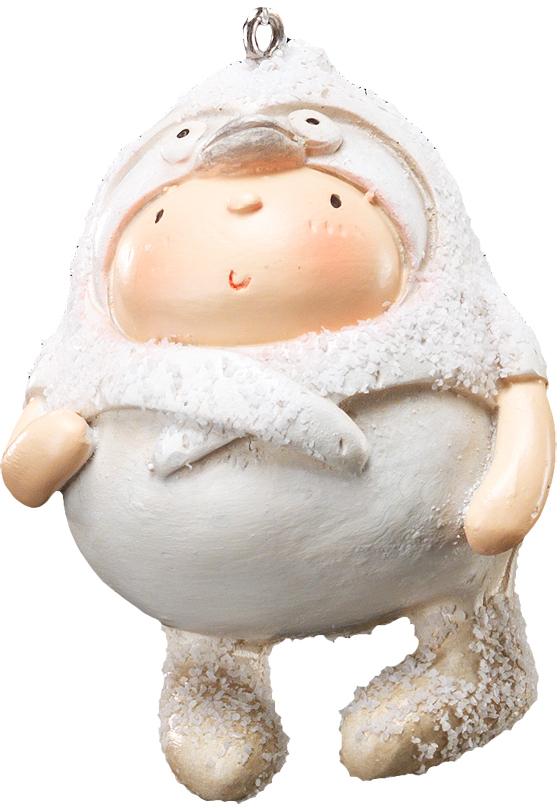 Украшение для интерьера новогоднее Erich Krause Маленький эскимос, 6 см41228Компактное украшение в виде ребятенка, одетого в птичью шапку с клювом и глазами, сделано из полирезины! Шапка и сапоги выполнены с эффектом песка. Новогодние украшения всегда несут в себе волшебство и красоту праздника. Создайте в своем доме атмосферу тепла, веселья и радости, украшая его всей семьей.
