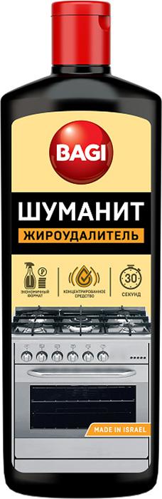 Удалитель жира Bagi Шуманит, 270 млK-208580-NКонцентрированное средство Bagi Шуманит предназначено для удаленияжировых и других стойких загрязнений на кухне. Всего за 30 секунд активныекомпоненты расщепляют и превращают в легко смываемую жидкость дажетвердый застывший жир и нагар.Товар сертифицирован.