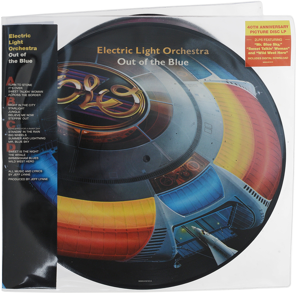 Electric Light Orchestra. Out Of The Blue (Picture Vinyl) (2 LP)