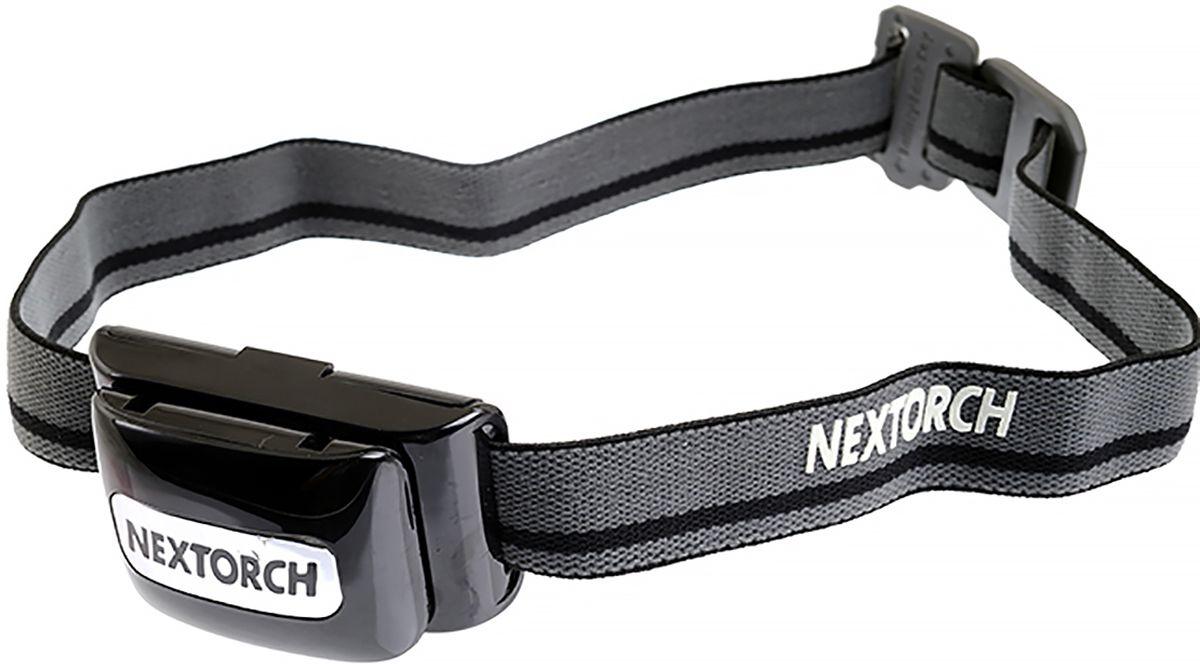 Фонарь налобный Nextorch Light Star, цвет: черный, серый
