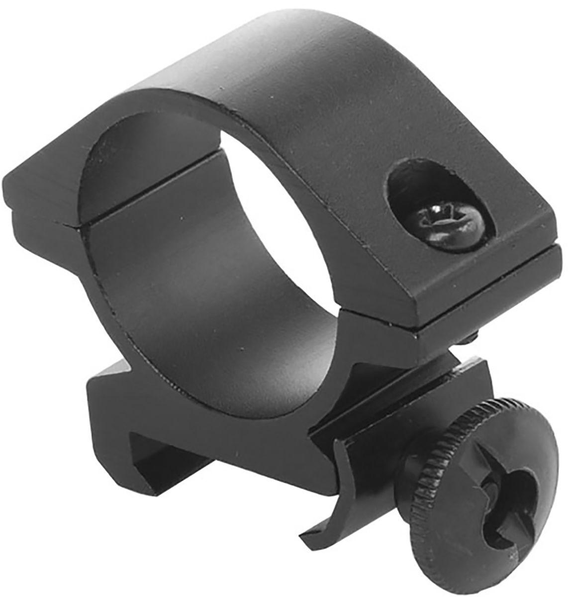 Кронштейн-кольцо для фонаря Nextorch Weaver. Picatinny, цвет: черный, диаметр 25 мм tactical x300 pistol gun light 500 lumens high output weapon flashlight fit 20mm picatinny weaver rail