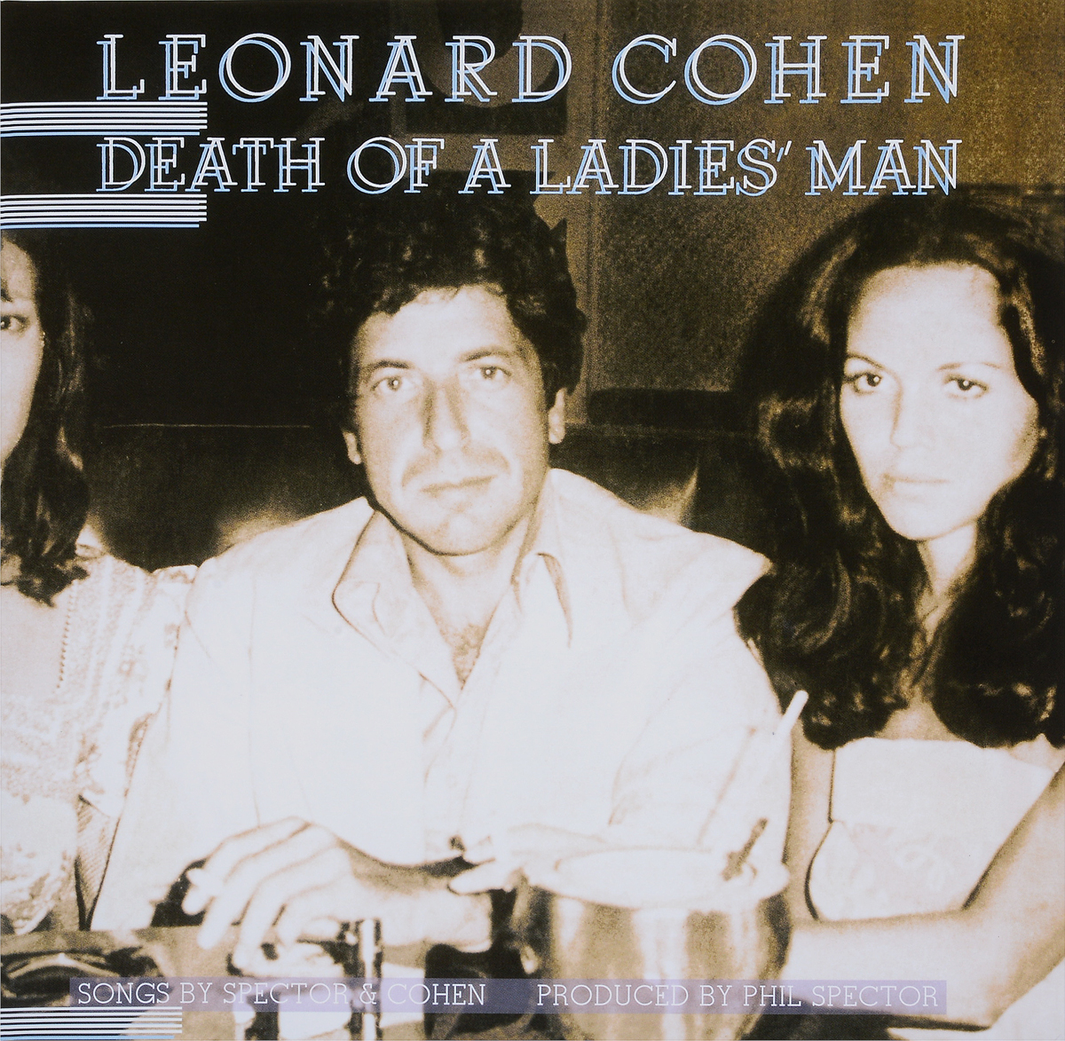 Леонард Коэн Leonard Cohen. Death of a Ladies Man (LP) a maze of death