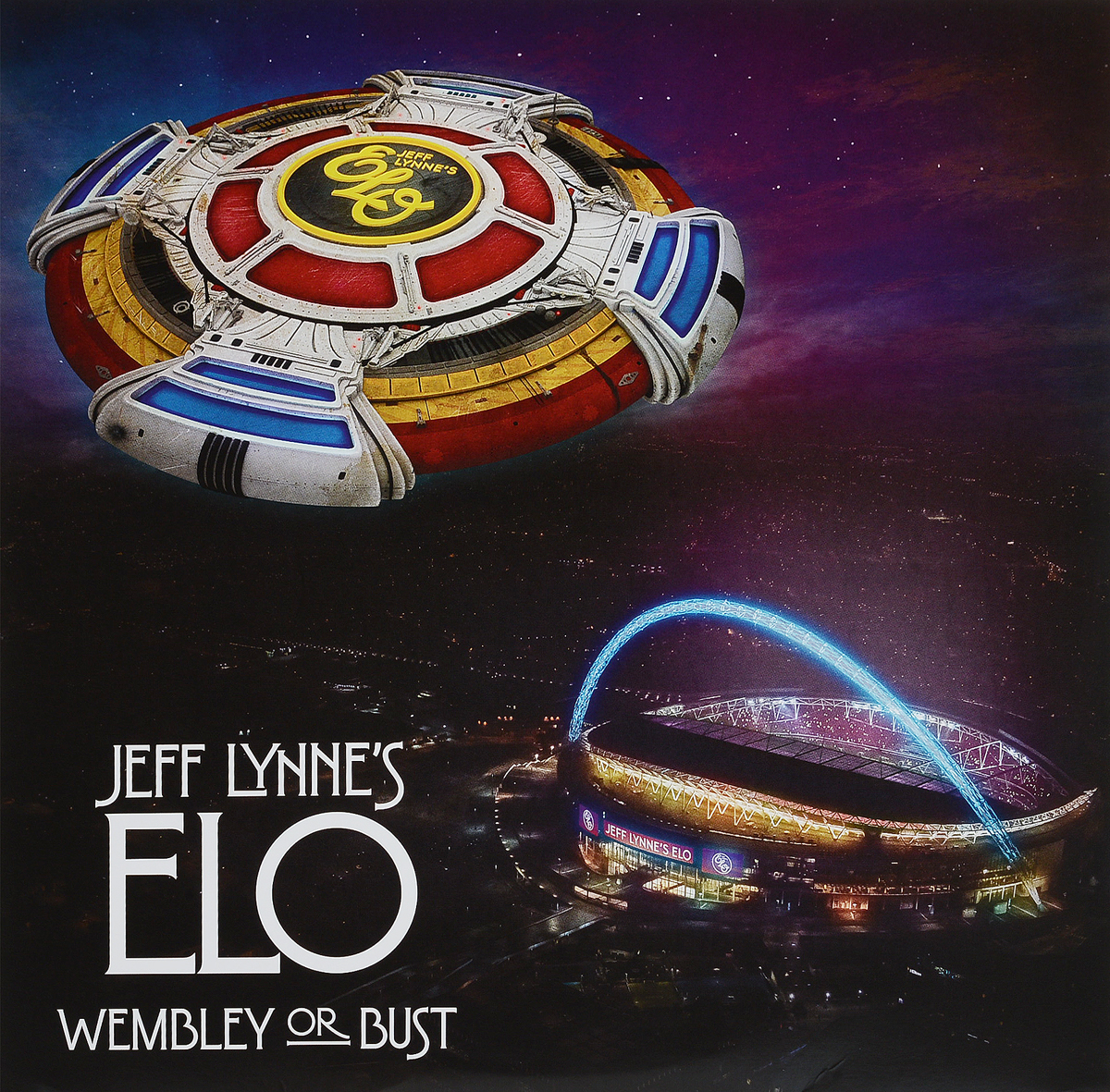 Electric Light Orchestra Jeff Lynne's ELO. Wembley Or Bust (3 LP) 2017 purple crew neck flower dress satinzipper back ball gown with pleats kids girl birthday dresses with bow sash