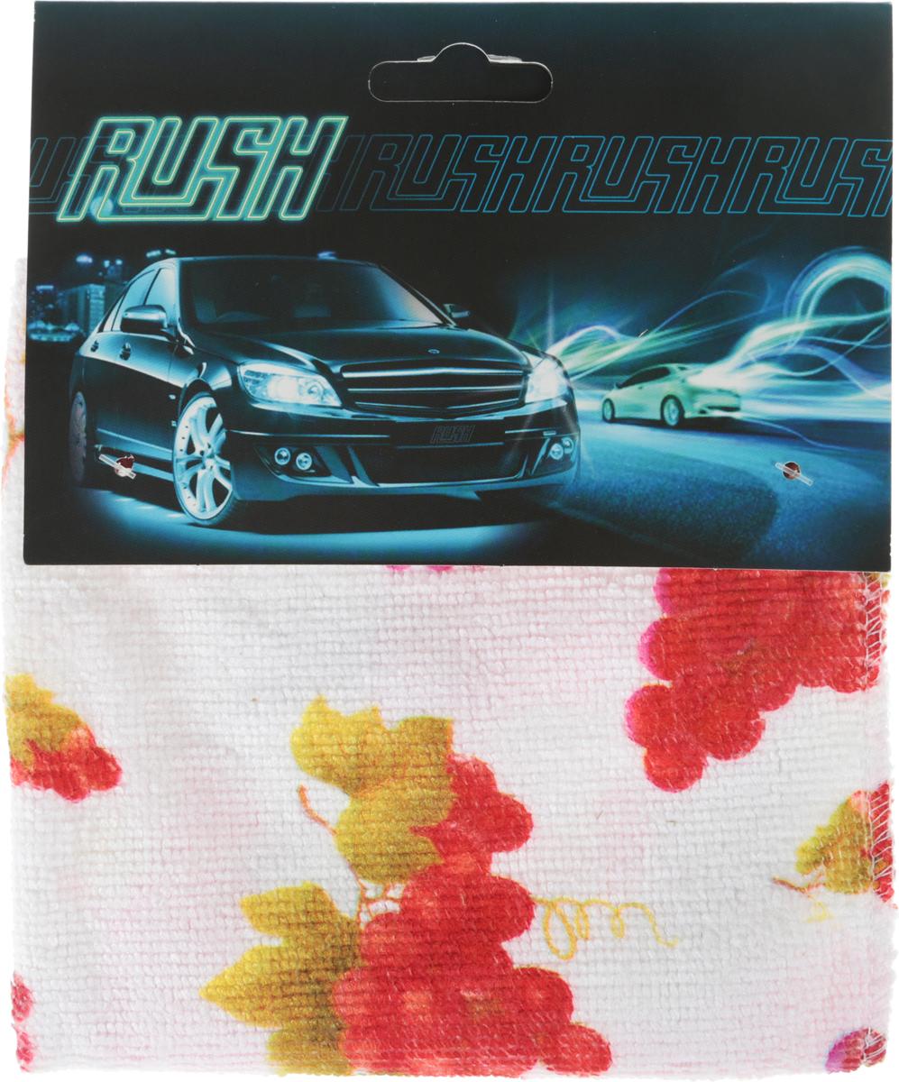 Салфетка автомобильная EvaAuto, универсальная, цвет: белый, 30 х 30 см салфетка универсальная сelesta из микрофибры цвет фиолетовый 30 х 30 см