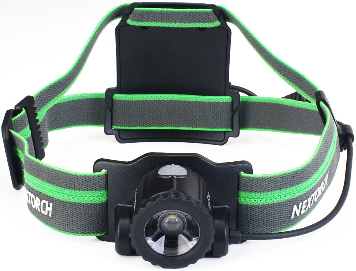 "Фото Фонарь налобный Nextorch ""My Star H-Series"", цвет: черный, зеленый"