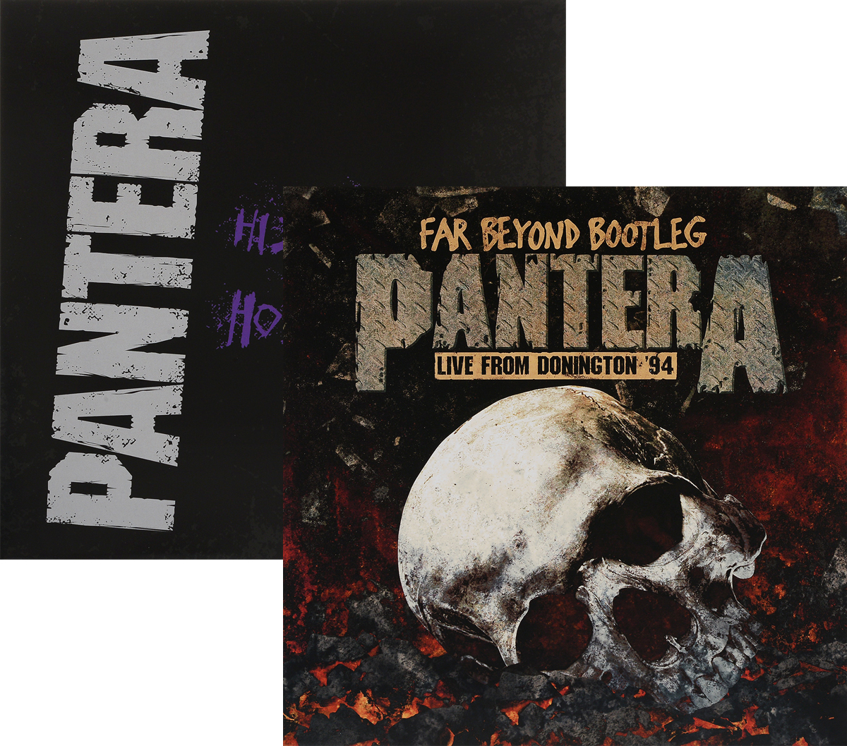 Pantera Pantera. History Of Hostility / Far Beyond Bootleg - Live From Donington '94 (2 LP) худи print bar pantera cowboys from hell