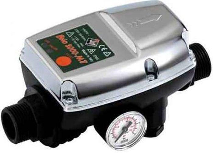 Контроллер давления Runxin DSK-535938Контроллер (реле) давления-автомат DSK-5— предназначен для автоматического включения и выключения насоса при водозаборе в системах водоснабжения домов, дач, коттеджей и других бытовых помещений. Оснащен защитой от сухого хода.Технические характеристики:Напряжение сети: 220 ВМакс. коммутируемый ток: 10 (4); 12 (8)* АМакс. давление воды в системе: 1,0 МПа (10 атм.)Макс. подача воды: 80 л/минМакс. рабочая температура: 55 °СПрисоединительный размер: 1