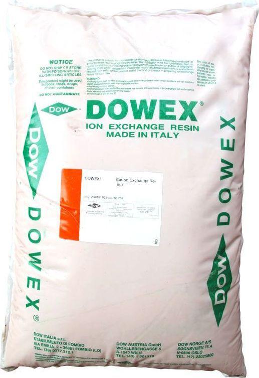 Ионообменная смола Dowex HCR-S/S (Na)40173Стандартный сильнокислотный катионит гелевого типа в Na-форме для умягчения и деминерализации воды. При наличии сероводорода использовать только с аэрацией и осадочной загрузкой перед данной загрузкой.