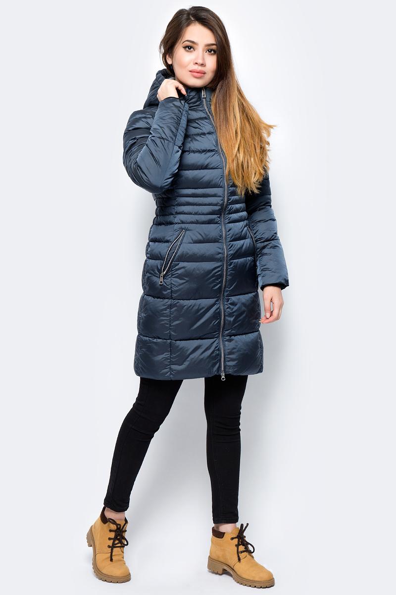 Куртка женская Grishko, цвет: морская волна. AL-3297. Размер 44AL-3297Стильная куртка от Grishko приталенного кроя с прорезными карманами на молнии. Теплый капюшон, рукава на фиксируемом манжете и комфортная длина сделают эту куртку незаменимой вещью в холодную осеннюю и зимнюю погоду. Утеплитель 100% микрофайбер – утеплитель нового поколения, который отличается повышенной теплоизоляцией, антибактериальными свойствами, долговечностью в использовании, и необычайно легок в носке и уходе. Изделия легко стираются в машинке, не теряя первоначального внешнего вида. Комфортная температура носки до -15°С.