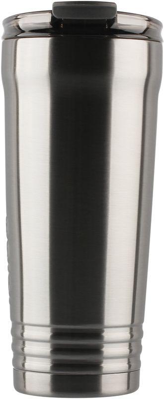 Кружка-термос Igloo Logan, с вакуумной изоляцией, цвет: серый, 887 мл170376Большая герметичная кружка-термос выполнена из нержавеющей стали с вакуумной изоляцией и стойкой к ударам крышкой, изготовленной из пластика. С оригинальной термокружкой вы сможете наслаждаться горячими напитками дома, в офисе, в машине или даже в поезде.