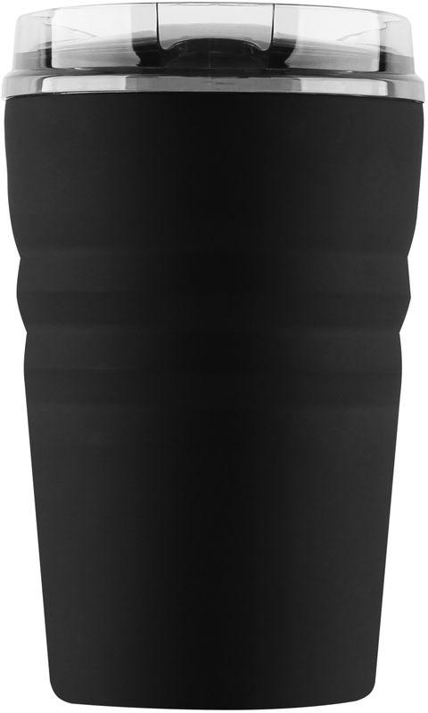 Кружка-термос Igloo Legacy, с вакуумной изоляцией, цвет: черный, 355 мл170378Компактная, герметичная кружка-термос выполнена из нержавеющей стали с вакуумной изоляцией и стойкой к ударам крышкой, изготовленной из пластика. С оригинальной термокружкой вы сможете наслаждаться горячими напитками дома, в офисе, в машине или даже в поезде.