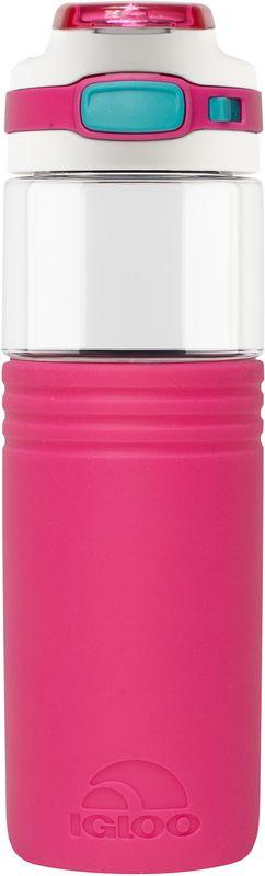 Бутылка для воды Igloo Tahoe, цвет: розовый, 710 мл170388Большая герметичная пластиковая бутылка для воды Igloo Tahoe обладает высокой прочностью и продуманным функционалом, подходит для ежедневного использования.Оснащена откидной пробкой, фиксатором закрытого положения и встроенной в крышку ручкой для переноски.Объем: 710 мл.