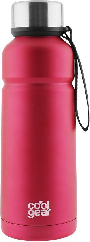 Термос CoolGear Cayambe, с вакуумной изоляцией, цвет: розовый, 532 мл5001849Термос CoolGear выполнен из нержавеющей стали с вакуумной изоляцией. Модель дополнена встроенным ремнем для переноски и стойкой к ударам крышкой, изготовленной из пластика. Термос прекрасно подойдет для ежедневного использования или занятий спортом.