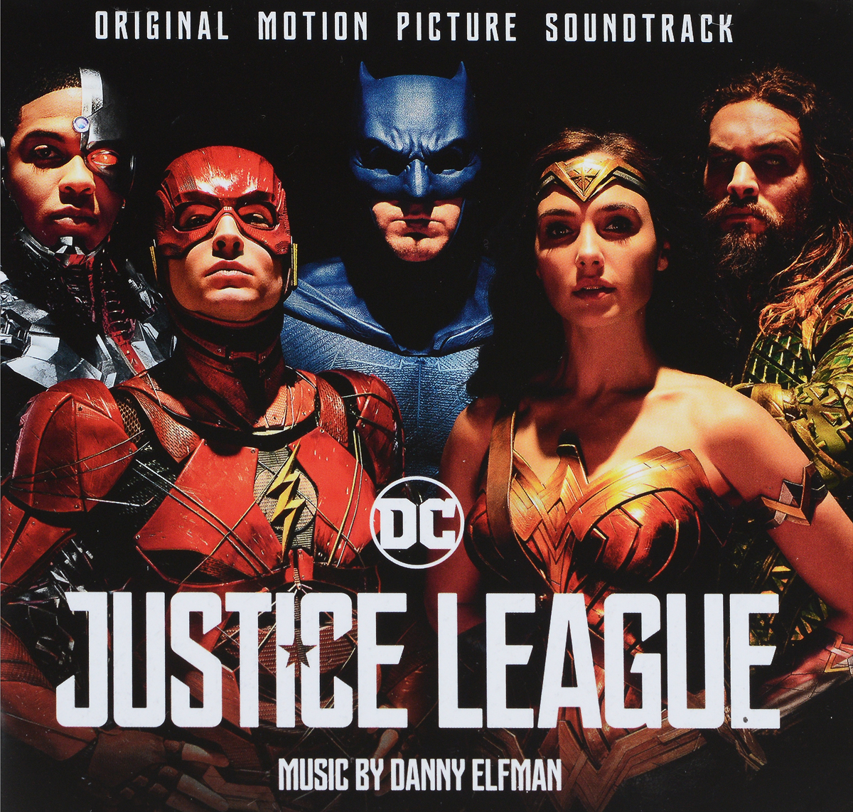 Zakazat.ru Danny Elfma. Justice League (Original Motion Picture Soundtrack)
