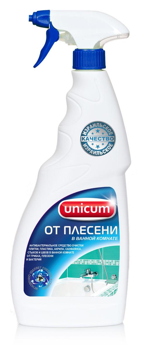 Средство для удаления плесени в ванной комнате Unicum, 750 мл300544Высокоэффективное средство Unicum для чистки керамической плитки, фарфорового, фаянсового и пластикового оборудования ванных, душевых и туалетных комнат. Средство удаляет неприятные запахи, уничтожает бактерии, плесень и грибок, возвращает первозданную белизну. Особенно эффективно действует в труднодоступных местах - межплиточных швах, трещинах, стыках.Состав: деионизованная вода, гипохлорит натрия 5-15%, АПАВ <5%, ароматизатор <5%.