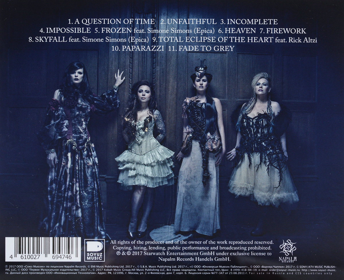 Exit Eden.  Rhapsodies in Black Концерн