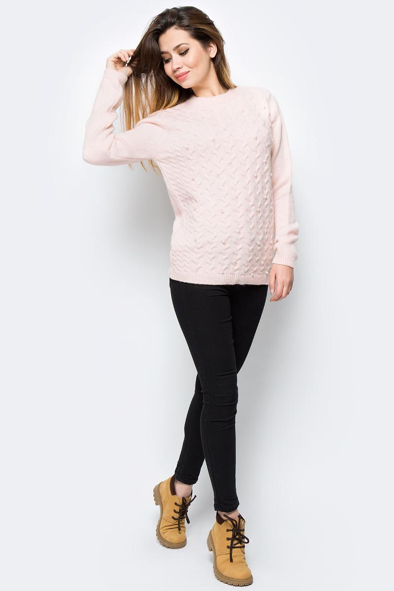 Джемпер женский adL, цвет: светло-розовый. 13931944000_026. Размер M (44/46)13931944000_026