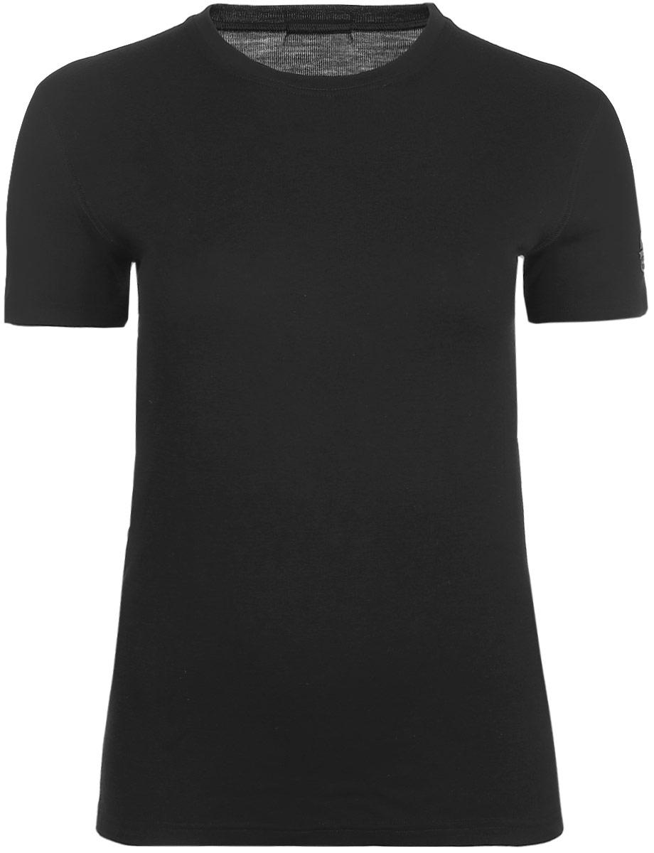 Термобелье футболка мужская Montero, цвет: черный. MWL 03. Размер 52/54MWL 03Футболка от Montero с короткими рукавами выполнена из 100% шерсти мериноса. Плотность 180 г. Можно носить самостоятельно или в качестве первого слоя.