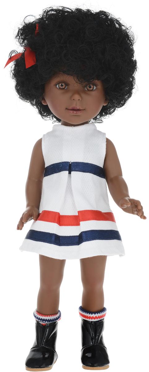 Vestida de Azul Кукла Паулина африканка Весна Морской стиль