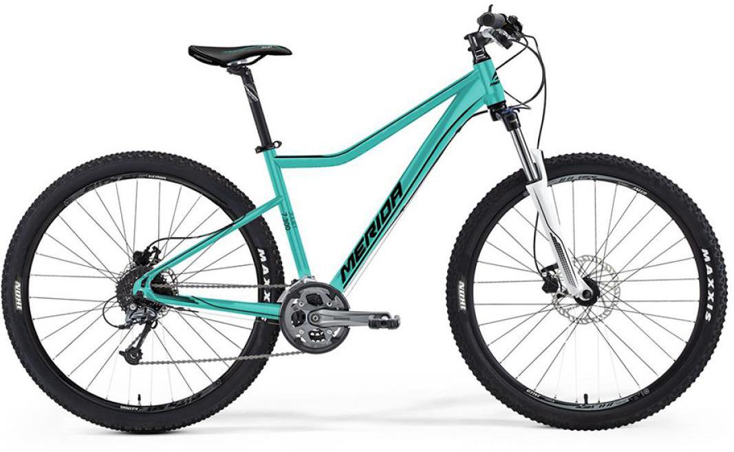 Велосипед женский Merida Juliet 7.300 2016, цвет: зеленый, рама 18,5, колесо 27,5254858