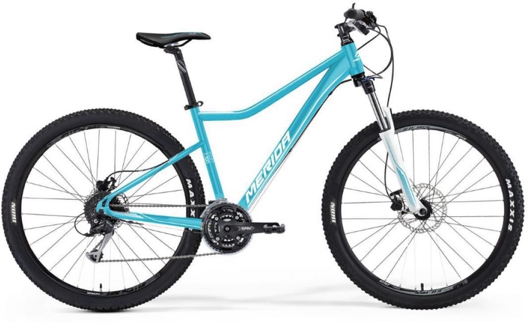 Велосипед женский Merida Juliet 7.100 2016, цвет: голубой, рама 18,5, колесо 27,5254863