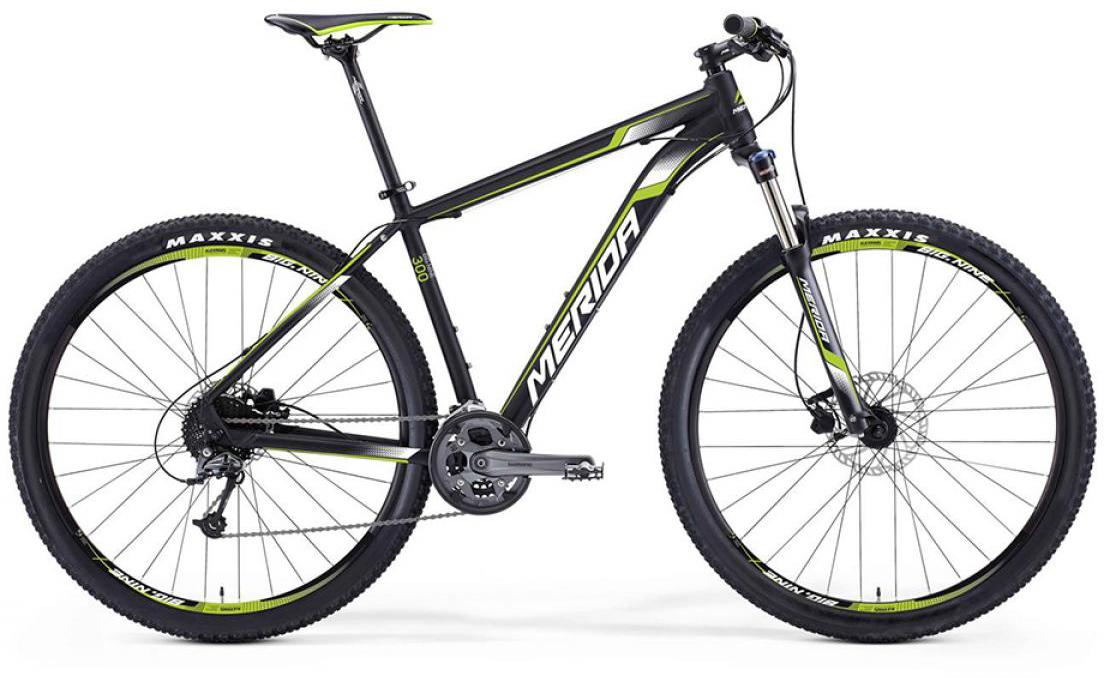 Велосипед горный Merida Big.Nine 300 2016, цвет: черный, рама 17, колесо 29254911