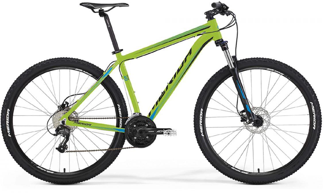 Велосипед горный Merida Big.Nine 40-D 2016, цвет: зеленый, рама 17, колесо 29254940