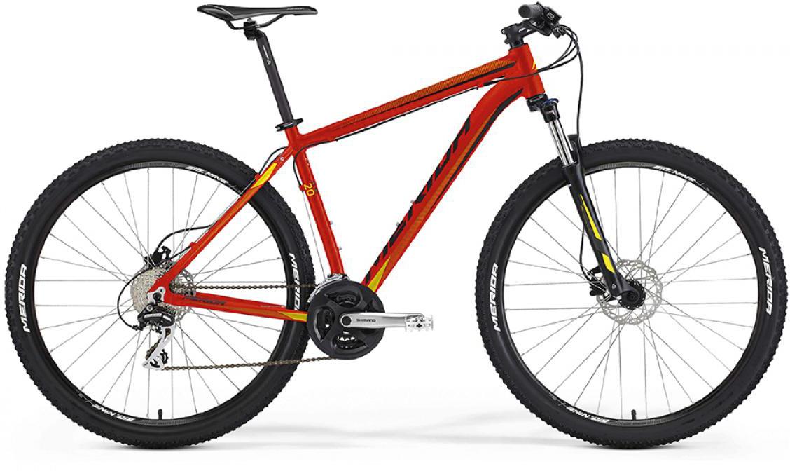 Велосипед горный Merida Big.Nine 20-D 2016, цвет: красный, рама 17, колесо 29254955